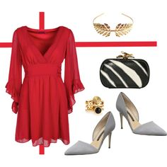 """Weading... in Red"" by diseneitorforever on Polyvore"