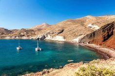 En la costa sur de la isla de Creta, cerca de Matala, encontramos un lugar muy especial: la playa Ko... - Thinkstock. Texto: Almudena Martín