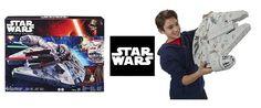¡Chollo! Star Wars Nave de batalla Halcón Milenario electrónico por 49.99 euros. Nuevo precio.