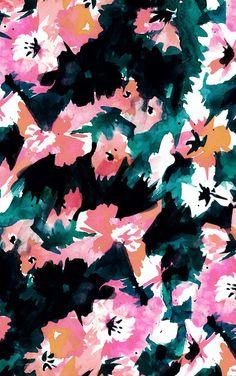 November Abstract Floral Wallpapers