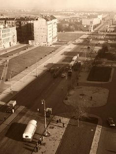 Ppr, Warsaw, Old Pictures, Illusions, Period, City Photo, Cities, Photos, Historia