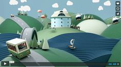Do it your way with the help of EviivoMill + Director Nils Kloth was tasked with creating a fully animated three minute film to promote Eviivo, the highly regarded online booking authority for the bed and breakfast industry. 3d Design, Game Design, Design Set, Flat Design, Graphic Design, 3d Video, Modelos 3d, 3d Tutorial, 3d Artwork