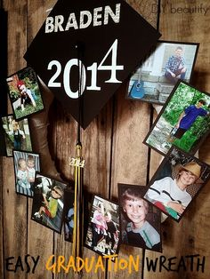 Graduation Party Ideas for High School . Graduation day is such a special day so if you want to make an awesome keepsake gift or create some amazing party Graduation Open Houses, 8th Grade Graduation, College Graduation Parties, Graduation Celebration, Graduation Decorations, Graduation Party Decor, Grad Parties, Graduation 2016, Graduation Project
