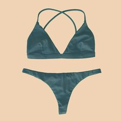 Eco swimwear made with love in California from recycled nylon. Seamless, supportive, simple, and sexy bikinis with a reinvented fit. Bralette Bikini, Sexy Bikini, Bikini Bottoms, Bikini Tops, Bikini For Curves, Sea Monsters, Deep Sea, Recycled Materials, Bikinis