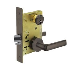 Sargent 60-8237 LNE 10B Classroom Mortise Lock LN Rose E Lever LFIC Prep