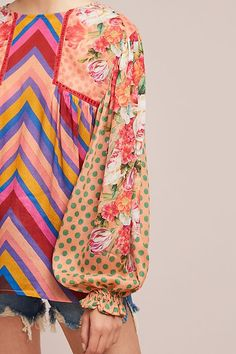 Shop new women's clothing at Anthropologie to discover your next favorite closet staple. Check back frequently for the latest clothing arrivals! Mode Outfits, Fashion Outfits, Womens Fashion, Evolution Of Fashion, Moda Paris, Fashion Line, Peasant Blouse, Cute Illustration, Couture Collection