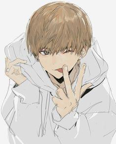Watch anime online in English. Manga Anime, Fanarts Anime, Manga Boy, Anime Art, Anime Characters, Hot Anime Boy, Cute Anime Guys, Handsome Anime Guys, Anime Boys