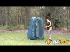 OZtrail Pop Up Ensuite Pack Down Instructions Great Videos, Popup, Camping Hacks, Outdoor Gear, Compact, Tent, Cabin Tent, Camping Tricks, Tentsile Tent
