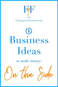 Check out our business ideas for making money on the side. Take up a side hustle to supplement your income. There are many options for increasing your income and we list them out for you. Click now to read more. Way To Make Money, How To Make, Part Time Jobs, Get Out Of Debt, Achieve Success, Frugal Tips, Read More, Life Skills, Personal Finance