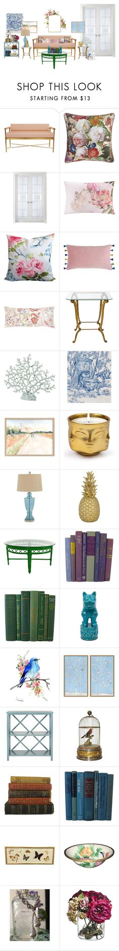"""My Dream Room"" by ccmonkvintage on Polyvore featuring interior, interiors, interior design, home, home decor, interior decorating, Sherry Kline, Liz Claiborne, Ted Baker and Bluebellgray"