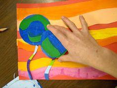 Zilker Elementary Art Class: 5th Grade Hundertwasser Flowers