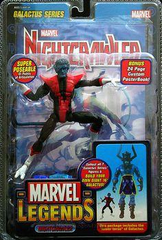 Marvel Legends Galactus Series Nightcrawler