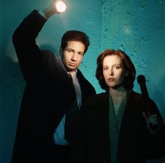 Mulder and Scully from X-Files - The Best TV Show Couples that Made Me Believe in Love...