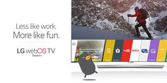 Watching your favorite shows should always be this easy: http://www.lg.com/us/experience-tvs/smart-tv/enjoy.jsp #webOS #TV