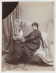 Women with Braids Artist: Antoin Sevruguin Medium: Albumen silver photograph Dates: Late 19th century Dynasty: Qajar