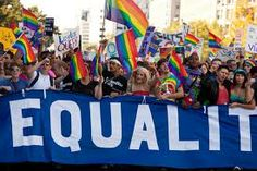 I think that this picture is quite meaningful in the sense that it shows a group of people trying to fight for their rights in this world and trying to make a change. Winter Olympic Games, Winter Olympics, Lgbt Rights, Human Rights, Equal Rights, Equals Sign, Monster Under The Bed, Dating Girls, World Religions