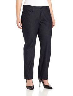 Women's Plus Relaxed Plain Front Pant