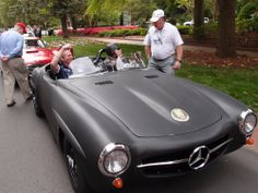 Part of the Pinehurst Concour d'Elegance 2014 was the iron Mike Rally - we took our 190 SLR & enjoyed the day! Come and follow us on Facebook: https://www.facebook.com/190SL
