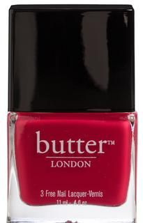 """""""Blowing Raspberries"""" by Butter London - great for the transition to spring."""
