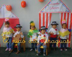 El Nido del Paraguas: Que viva la feria de abril Flamenco Party, Outfits For Spain, Hispanic Heritage Month, International Festival, Diy Costumes, Party Time, Halloween, Verbena, School