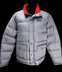 Mens Vintage Clothing Patagonia Slingshot Down Jacket Large @ Monster Vintage