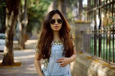 |Overalls| Only| Top| Only| Originals| Bag| Michael Kors| Sunglasses| RayBan| Denim shirt| Only| Daily Feature| Fashion| Blogger| Hair| Makeup|
