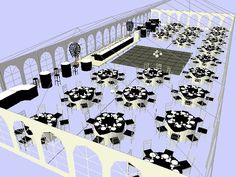 Tent layout....really like this set-up