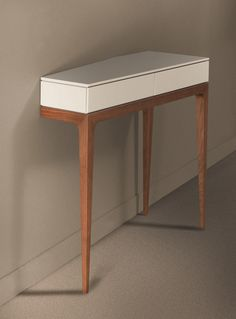 MDF console table with drawers MOVED Les Contemporains Collection By Roche Bobois design Sandra Demuth Entry Furniture, Metal Furniture, Unique Furniture, Home Furniture, Furniture Design, Console Tv, Console Table, Table Shelves, Wood Shelves