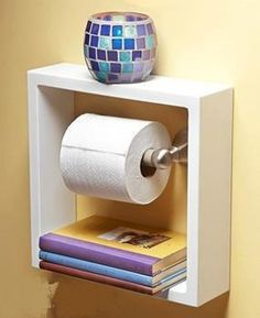 Clever idea for the bathroom.