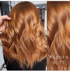 Beauty Nails, Hair Beauty, Long Hair Styles, Girl Stuff, Instagram, Red Heads, Hair, Haircolor, Hairdos