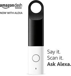 Dash Wand White Voice Activated with Alexa Amazon Sale, Amazon Echo, Works With Alexa, Gadgets And Gizmos, Apple Tv, Wands, Remote, Nail Polish, Ebay