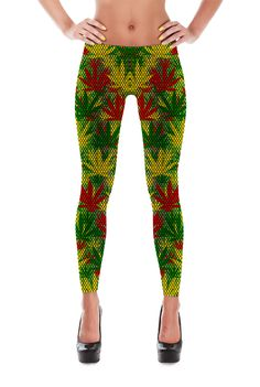 Pattern Leggings via COSMOTEE. Click on the image to see more!