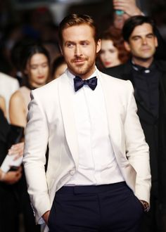 11 Times Ryan Gosling Sizzled While Promoting The Nice Guy—You're Welcome - BLACK TIE APPROPRIATE from InStyle.com