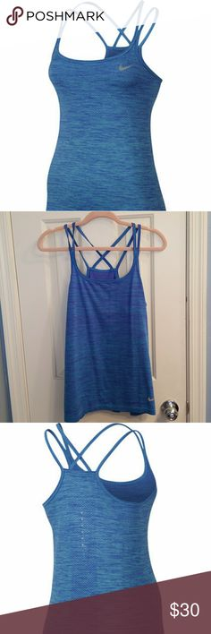 WOMENS NIKE DRI FIT KNIT TANK Women's Nike Dri-FIT Knit Tank STAY COOL IN SEAMLESS COMFORT. Women's Nike Dri-FIT Knit Tank helps you stay cool and comfortable with seamless Dri-FIT fabric that moves smoothly against you as you breeze through workouts. Nike Tops Tank Tops