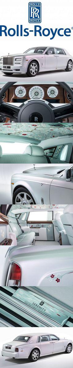 Bespoke Rolls-Royce Phantom Serenity Concept With Customization Like No Other #rollsroyceclassiccars