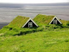Turf houses, Iceland