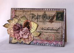 "Kaisercraft - ""Motherhood"" Card by Svetlana Austin"