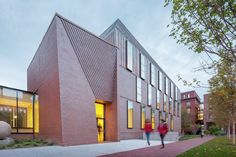 35 Exemplary Projects Win 2017 AIA New York Design Awards,Tozzer Anthropology Building, Harvard University / Kennedy & Violich Architecture. Brick Architecture, Architecture Awards, Architecture Photo, Public Architecture, Education Architecture, Brick Facade, Inside Design, Brick Building, House Windows