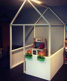 Poppenhoek Parents Room, Kids Room, Kindergarten Design, Preschool Rooms, Corner House, Church Nursery, Kid Toy Storage, Indoor Activities For Kids, Toy Rooms
