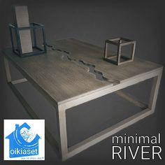 Coffee table RIVER minimal