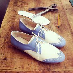 Handmade leather´s shoes Toribia Choque Hechas a mano en cuero