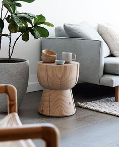 """Aimee Tarulli on Instagram: """"The egg cup stool by @mark_tuckey is such a classic piece and one that represented the @feast_watson_rawandtrue trend perfectly. Looking mighty fine next to my favourite Freddy sofa from my friends at @husetdesignstore love this corner of my living room! (If only it still looked like that ) styling by me #earlcarter #interiorstyling #styling #style #interiorinspo #interiordesign #feastwatson #rawandtrue #marktuckey #eggcupstool"""""""