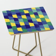 Dino-Pop Side Table by vanid | Society6