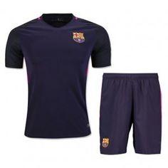 16-17 Football Shirt Barcelona Away Cheap Soccer Kit (Shirt+Shorts)  G00542  632977b91
