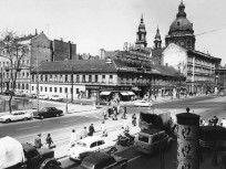 1963, Bajcsy-Zsilinszky út, 5. és 6. kerület Budapest, Times Square, Louvre, Street View, Building, Travel, Viajes, Buildings, Trips