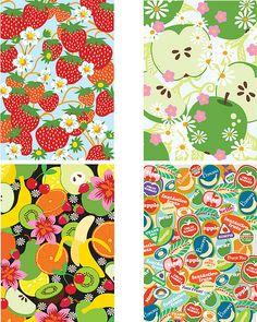 fruity postcard - Google Search