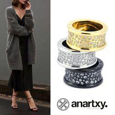 Alegra los días fríos #anartxy #JoyasEnAcero #JóiasEmAço #SteelJewel #BijouxEnAcier #estilo #Rings #anillos #woman #tendencia #steel #acero #fashion #trend