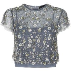 Shop Needle & Thread at Harrods and earn Rewards points, in-store and online. Dope Fashion, Fashion Outfits, Needle And Thread Dresses, Embellished Crop Top, Floral Crop Tops, Celebrity Outfits, Chic, Cool Outfits, Casual