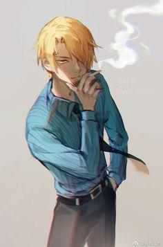 Shogugeki no Sanji Sanji One Piece, Anime One Piece, One Piece Fanart, Sad Anime, Kawaii Anime, Anime Guys, Anime Art, Nico Robin, Black Background Wallpaper