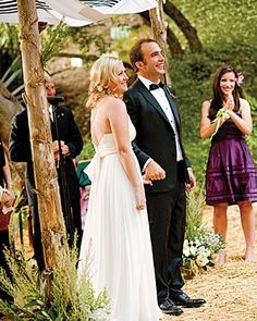 such a nice looking wedding